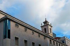 Μουσείο των χρημάτων στη Λισσαβώνα, Πορτογαλία στοκ φωτογραφία με δικαίωμα ελεύθερης χρήσης