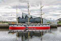 Μουσείο όχθεων ποταμού, Γλασκώβη στοκ εικόνες