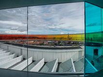Μουσείο Ώρχους, Δανία σύγχρονης τέχνης Aros Στοκ Φωτογραφίες