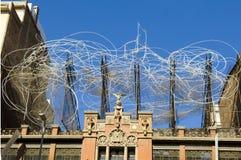 Μουσείο Antoni Tapies Στοκ φωτογραφία με δικαίωμα ελεύθερης χρήσης