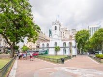 Μουσείο Cabildo σε Plaza de Mayo στο Μπουένος Άιρες, Αργεντινή Στοκ Εικόνες