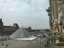 μουσείο du louvre στοκ εικόνα με δικαίωμα ελεύθερης χρήσης