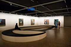 Μουσείο Edvard Munch στο Όσλο στοκ εικόνα