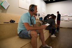 Μουσείο Edvard Munch στο Όσλο στοκ εικόνα με δικαίωμα ελεύθερης χρήσης