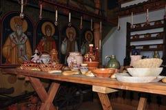 Μουσείο Etnographic Harman, εσωτερικό στοκ φωτογραφίες