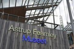 Μουσείο Fearnley Astrup της σύγχρονης τέχνης στοκ φωτογραφία