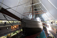Μουσείο Fram, Όσλο, Νορβηγία στοκ φωτογραφία με δικαίωμα ελεύθερης χρήσης