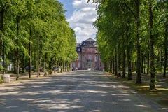 Μουσείο Goethe, Ντίσελντορφ, Γερμανία Στοκ φωτογραφίες με δικαίωμα ελεύθερης χρήσης