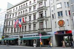 μουσείο haus σημείων ελέγχ&omicron Στοκ φωτογραφία με δικαίωμα ελεύθερης χρήσης