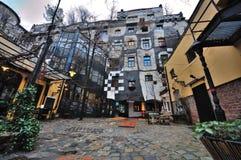Μουσείο Haus Kunst - άποψη από τον κήπο 01 Στοκ Εικόνα