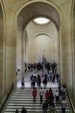 μουσείο LE louvre στο Παρίσι, Γαλλία στοκ φωτογραφίες