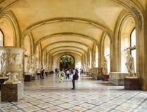 μουσείο LE louvre στο Παρίσι, Γαλλία στοκ φωτογραφίες με δικαίωμα ελεύθερης χρήσης