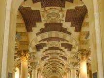 μουσείο LE louvre στο Παρίσι, Γαλλία στοκ φωτογραφία με δικαίωμα ελεύθερης χρήσης