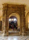 μουσείο LE louvre στο Παρίσι, Γαλλία στοκ εικόνες