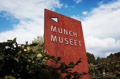 Μουσείο Musee Munch Munch, Όσλο, ΝΟΡΒΗΓΙΑ στοκ εικόνες
