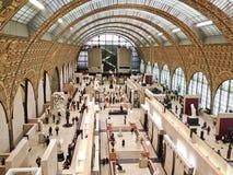 μουσείο orsay Παρίσι της Γαλλίας Στοκ Εικόνα