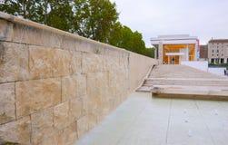 Μουσείο Pacis Ara αποκαλούμενη στην η Ρώμη κοιλάδα Ara Pacis Museo Στοκ Εικόνες
