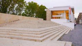 Μουσείο Pacis Ara αποκαλούμενη στην η Ρώμη κοιλάδα Ara Pacis Museo Στοκ Φωτογραφίες