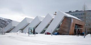 Μουσείο Polaria, Tromso, Νορβηγία Στοκ φωτογραφία με δικαίωμα ελεύθερης χρήσης