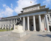 Μουσείο Prado Στοκ φωτογραφία με δικαίωμα ελεύθερης χρήσης