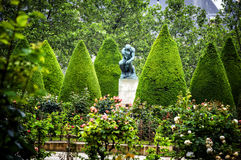 Μουσείο Rodin, Παρίσι Στοκ Φωτογραφίες