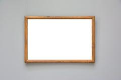 Μουσείων Τέχνης πλαισίων μπλε λευκό σχεδίου τοίχων περίκομψο ελάχιστο που απομονώνεται Στοκ Φωτογραφίες