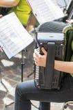Μουσικά όργανα μιας ζώνης Στοκ Εικόνες