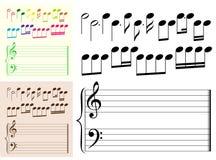 μουσικές παραλλαγές στ&om διανυσματική απεικόνιση