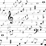 μουσική άνευ ραφής Στοκ Φωτογραφία