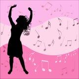 μουσική αγάπης Στοκ φωτογραφία με δικαίωμα ελεύθερης χρήσης