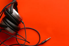 Μουσική ακουστικών Στοκ εικόνες με δικαίωμα ελεύθερης χρήσης