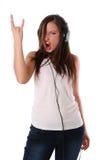 μουσική ακούσματος ακ&omicro Στοκ Εικόνες