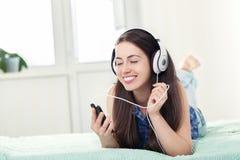 μουσική ακούσματος ακ&omicro Στοκ εικόνες με δικαίωμα ελεύθερης χρήσης