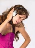 μουσική ακούσματος στη &ga Στοκ εικόνες με δικαίωμα ελεύθερης χρήσης