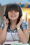 μουσική ακούσματος Στοκ Φωτογραφίες