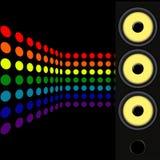 μουσική αναδρομική Στοκ εικόνες με δικαίωμα ελεύθερης χρήσης