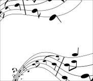 μουσική αναδρομική Στοκ Εικόνα