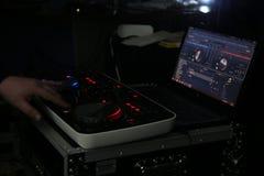 Μουσική αναμικτών του DJ Στοκ Εικόνα