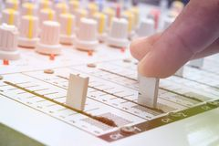 μουσική αναμικτών Στοκ εικόνα με δικαίωμα ελεύθερης χρήσης
