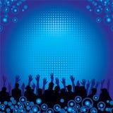 μουσική ανασκόπησης ακροατηρίων ελεύθερη απεικόνιση δικαιώματος