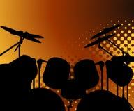 μουσική ανασκόπησης 01 Στοκ φωτογραφία με δικαίωμα ελεύθερης χρήσης