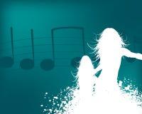 μουσική ανασκόπησης 09 Στοκ φωτογραφία με δικαίωμα ελεύθερης χρήσης