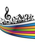 μουσική ανασκόπησης απεικόνιση αποθεμάτων