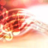 Μουσική ανασκόπηση Στοκ φωτογραφίες με δικαίωμα ελεύθερης χρήσης