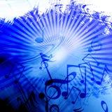 Μουσική ανασκόπηση Στοκ Εικόνες