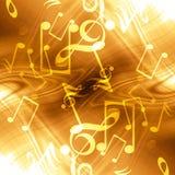 Μουσική ανασκόπηση απεικόνιση αποθεμάτων