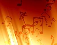 Μουσική ανασκόπηση διανυσματική απεικόνιση
