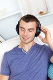 μουσική ατόμων ακούσματο& Στοκ Φωτογραφία