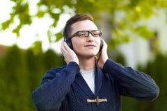μουσική ατόμων ακούσματο& Στοκ εικόνες με δικαίωμα ελεύθερης χρήσης
