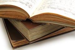 μουσική βιβλίων Στοκ Εικόνες